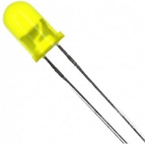LED 5mm Jaune