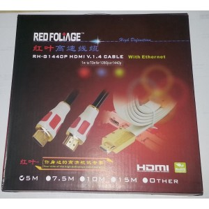 Cable HDMI Plat V1.4 5M...