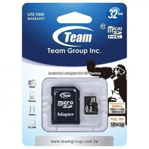 Carte mémoire micro SD 16GB...