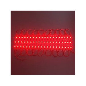 Domino SMD 3 leds rouge