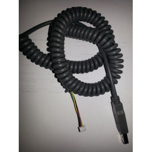 Cable spirale USB A male...