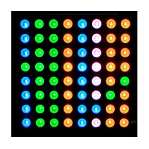 Matrice LED RGB 8x8...