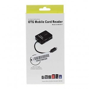 OTG Mobile Card Reader