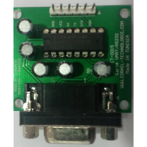 Carte RS232/UART TTL, CT-0015