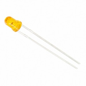 LED 3mm Jaune, LTL-1CHY-012A