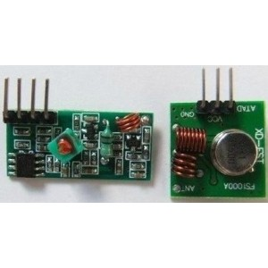 433MHz RF transmitter and...