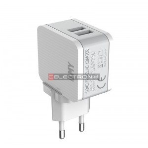 Chargeur USB 5V 2.4A 2...