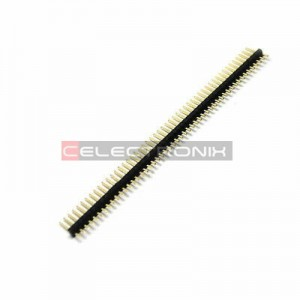 barrette SIL Male 50P 2.54mm