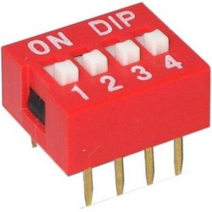 Dip switch 4 position