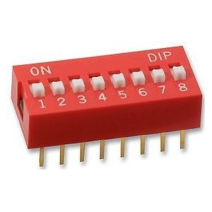 Dip switch 8 position...