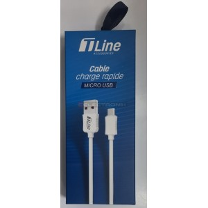 Cable Micro USB 1M 2.4A...
